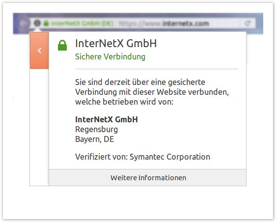 Grundlagen zum Thema SSL - SSL & S/MIME - InterNetX Help Center